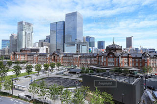 東京駅のある風景の写真・画像素材[2482212]