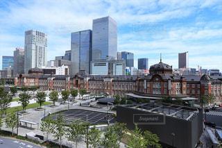 東京駅前の風景の写真・画像素材[2482216]