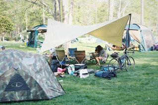 おしゃれキャンプの写真・画像素材[140958]