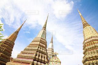 タイの寺院の内部の写真・画像素材[2266684]