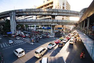バンコクの渋滞の写真・画像素材[2266704]