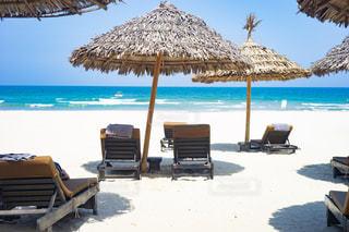 南国のビーチリゾートの写真・画像素材[2271192]