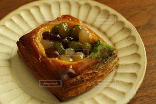 お豆のデニッシュの写真・画像素材[872551]