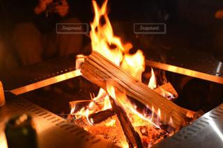 焚き火の写真・画像素材[2267369]
