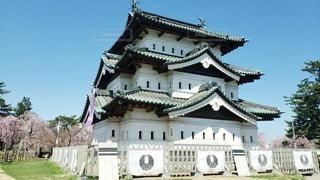 弘前城 天守閣の写真・画像素材[2284792]