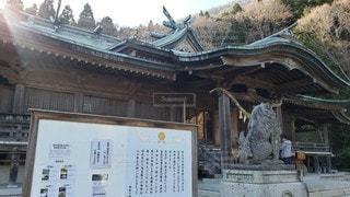 函館八幡宮 社殿の写真・画像素材[2290373]