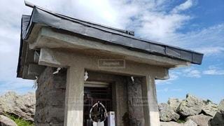 青森 岩木山山頂 岩木山神社奥宮の写真・画像素材[2391485]