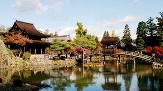 岐阜 虎渓山永保寺 庭園の写真・画像素材[2687883]