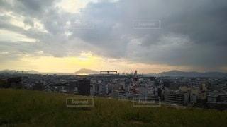香川 丸亀城 本丸からの眺望の写真・画像素材[2730827]
