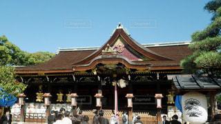 京都 北野天満宮 拝殿の写真・画像素材[2742775]