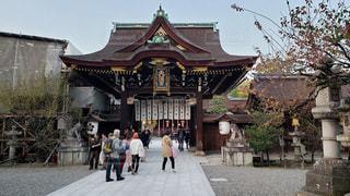 京都 北野天満宮 三光門の写真・画像素材[2748697]