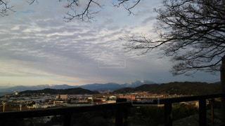 滋賀 彦根城 本丸からの眺望ー伊吹山の写真・画像素材[2765225]