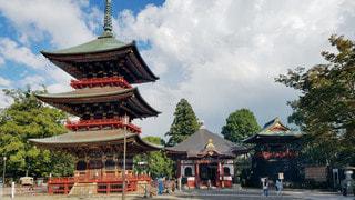 千葉 成田山新勝寺 三重塔の写真・画像素材[2825901]