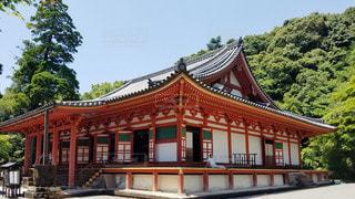 大阪 観心寺 本堂の写真・画像素材[2909427]