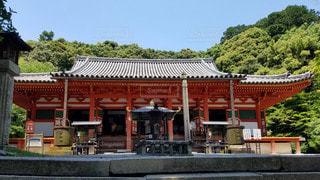 大阪 観心寺 金堂の写真・画像素材[2909432]