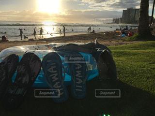 ハワイのビーチの写真・画像素材[2248135]