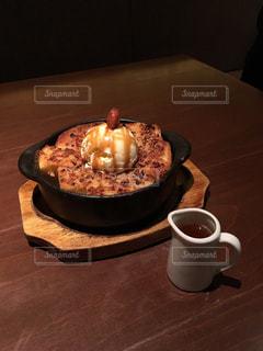 カフェにてケーキの写真・画像素材[2250422]