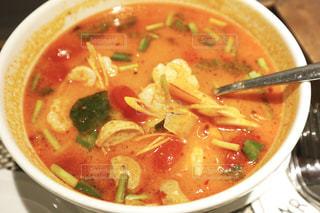 バンコクで食べたトムヤムクンの写真・画像素材[2481760]