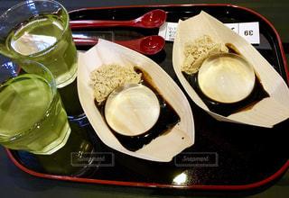 賞味期限30分で有名な水信玄餅の写真・画像素材[2505065]