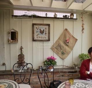 青梅にあるたまご屋さんがやっているカフェの写真・画像素材[2676574]