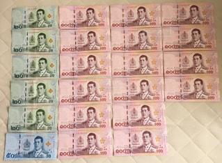 週末タイ旅行の予算の写真・画像素材[2807993]