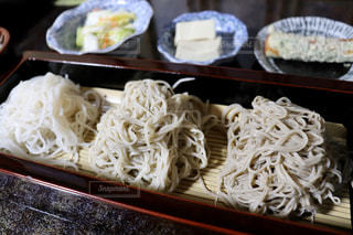 蕎麦3種食べ比べの写真・画像素材[2811171]