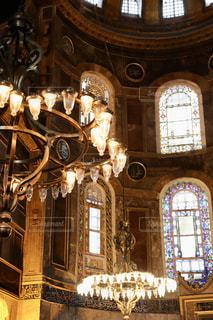 イスタンブールの観光名所のアヤソフィアの写真・画像素材[2863923]