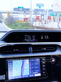 吹田IC付近をドライブ中の写真・画像素材[3075402]