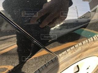 車の傷の写真・画像素材[2266967]