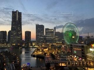 横浜の夜景の写真・画像素材[2267317]