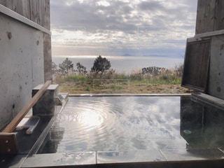 海の見える貸切露天風呂の写真・画像素材[2267333]
