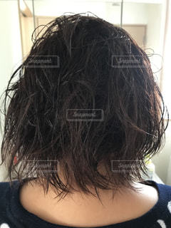 くせ毛の写真・画像素材[2921211]