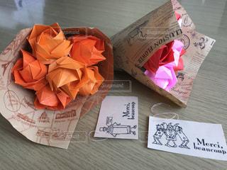 カラフルな花束の写真・画像素材[3184270]