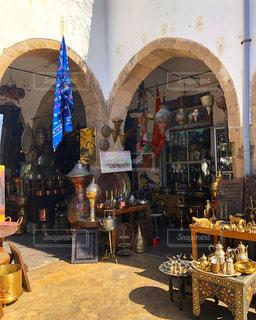 モロッコのマーケットの写真・画像素材[2255690]
