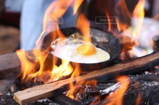 朝食の調理。の写真・画像素材[2260117]