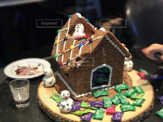 クリスマスブランチにあった食べれるお家です。の写真・画像素材[2256713]