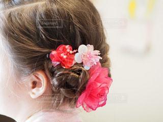 女の子の髪型の写真・画像素材[2268365]