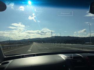 車からの眺めの写真・画像素材[2258546]