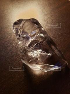 机上の氷の写真・画像素材[2258960]