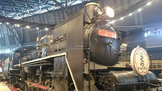 蒸気機関車の写真・画像素材[2261775]