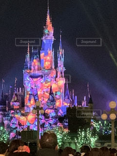 舞台上の城の写真・画像素材[2262055]