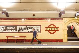 外国のおしゃれな駅のホームの写真・画像素材[2261333]