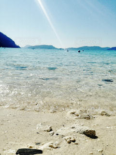 慶良間のビーチの写真・画像素材[2360279]