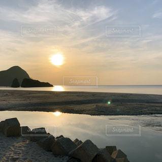 海岸 サンセットの写真・画像素材[2264720]