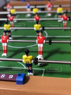 サッカーゲームの写真・画像素材[2263107]