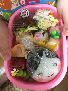 子供のお弁当の写真・画像素材[2267239]