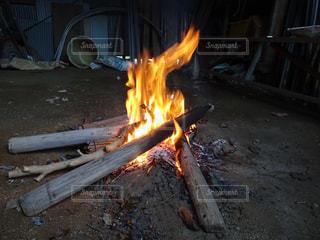焚き火の写真・画像素材[2269257]