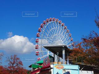観覧車、遊園地のイメージの写真・画像素材[2268193]