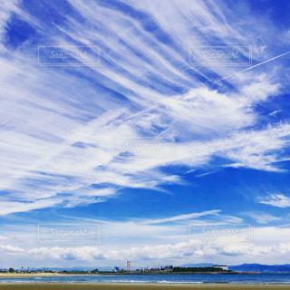 青空の雲の写真・画像素材[2269749]