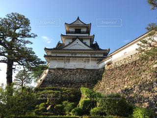 早朝の高知城の写真・画像素材[2269878]